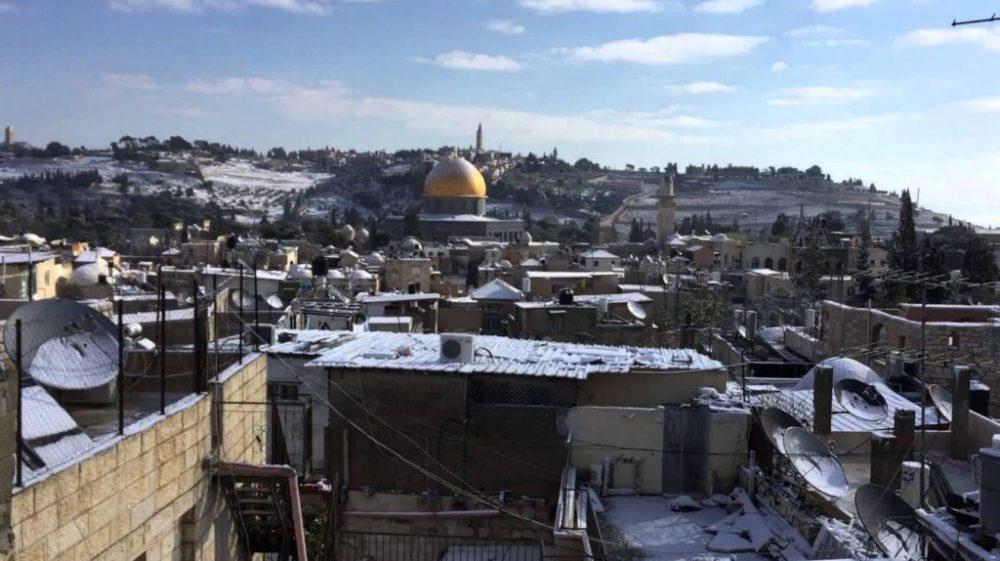 Иерусалим зимой