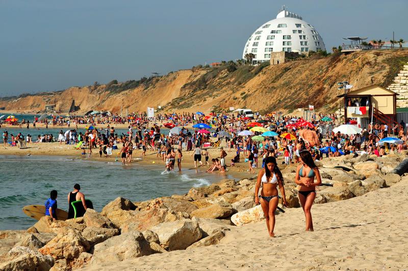 ашкелон пляжи