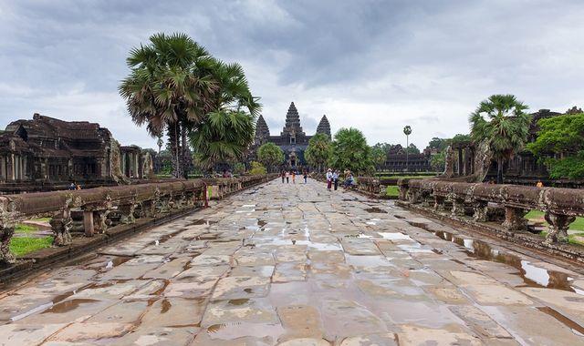 после дождя в камбодже