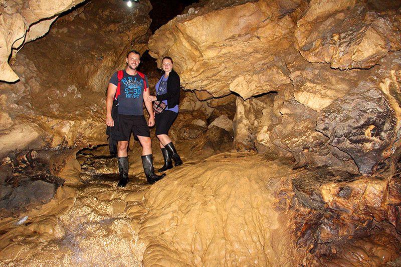 Саморосенки в пещерах Отапа в Абхазии