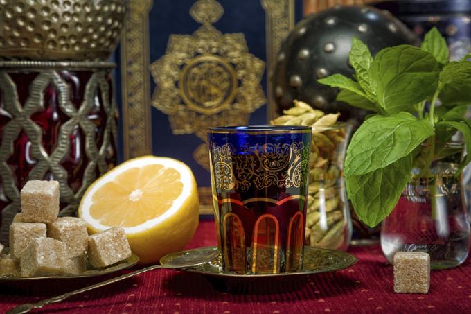 Мятный чай, Марокко