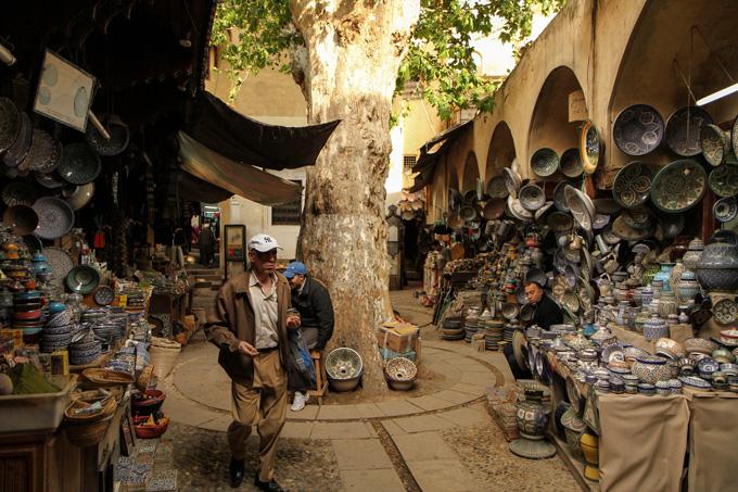 Старый город в Фесе, Марокко