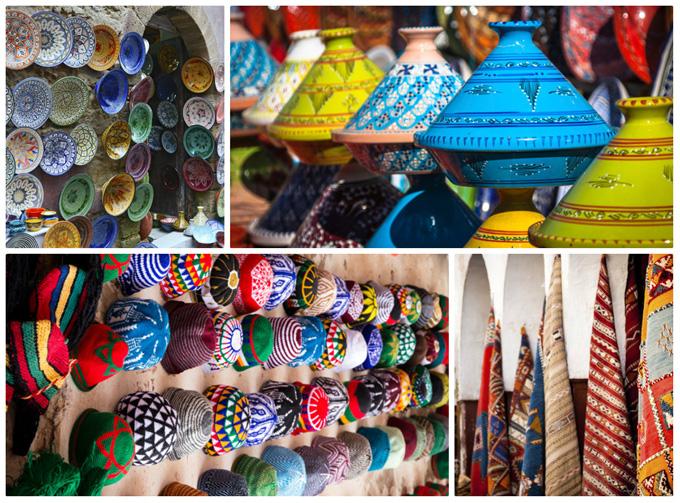 Базары Марокко