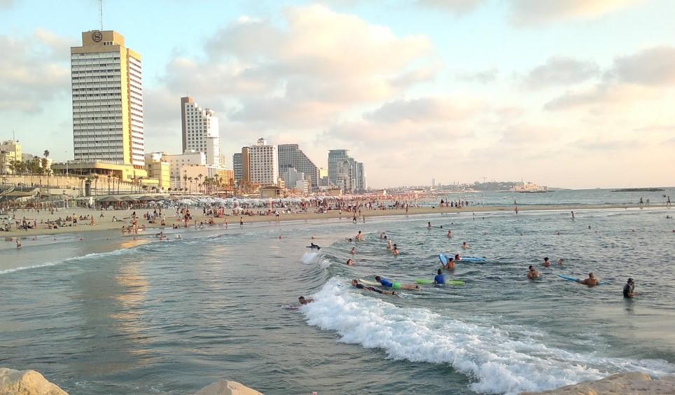 Пляж Гордон в Тель-Авиве