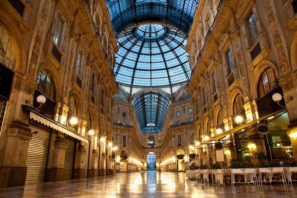 Галерея Витторио Эмануэле II в Милане