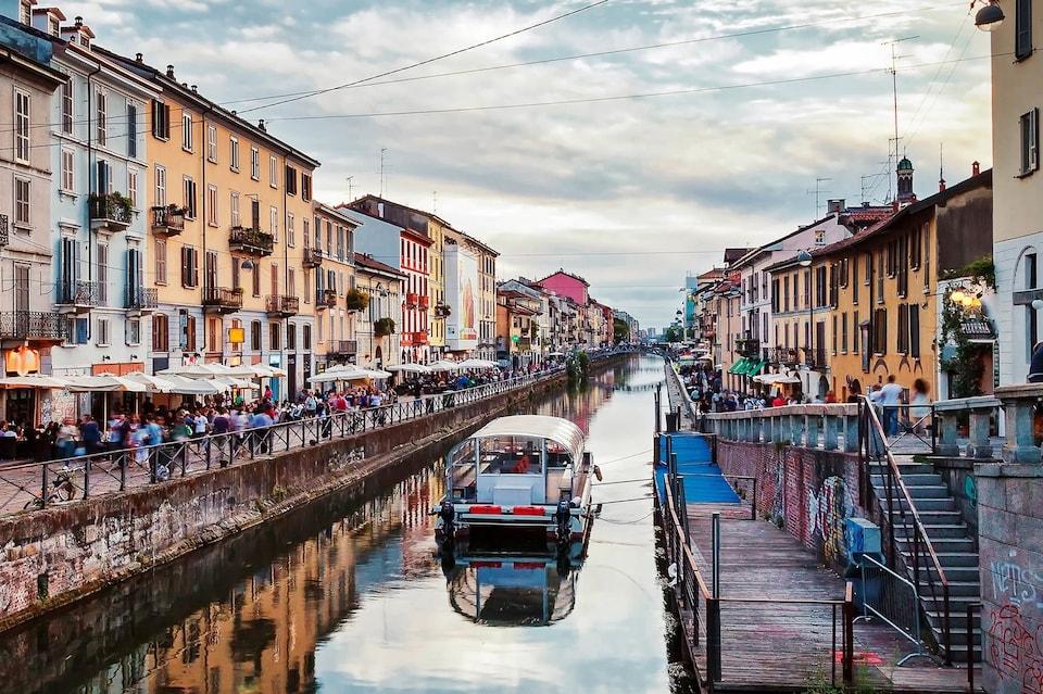 Канал Навильи в Милане
