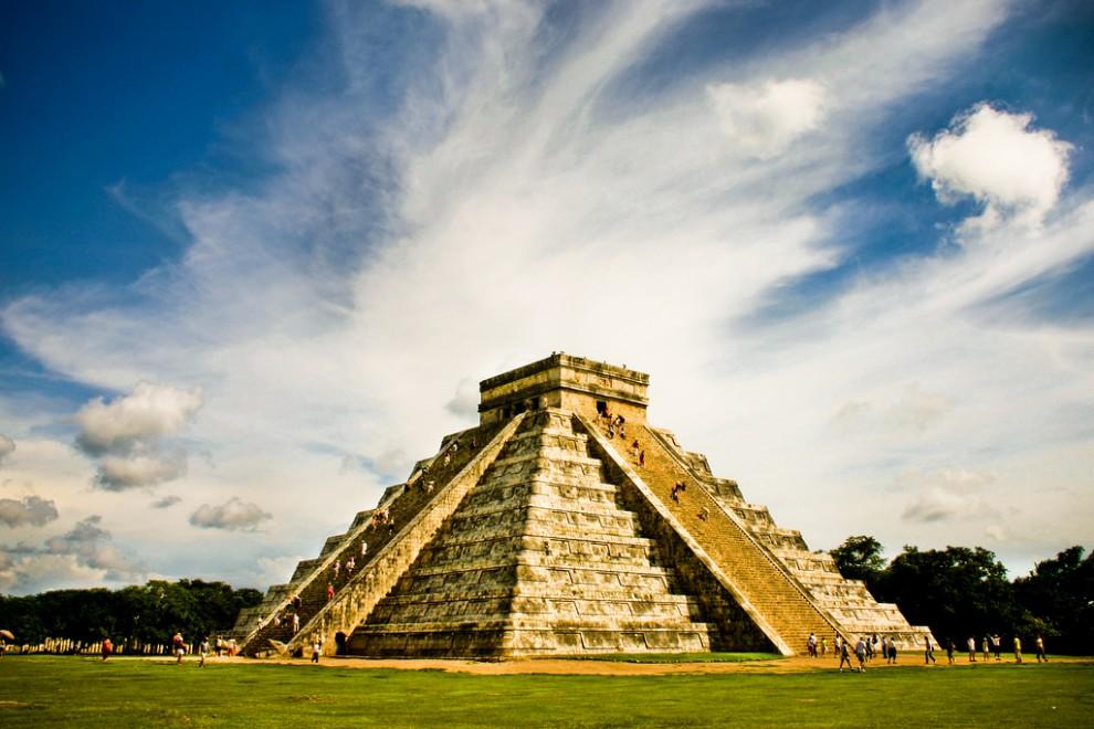 Пирамида Кукулькана в Чичен-Ице