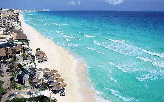 Пляж Чак-Моль (Playa Chac-Mool)