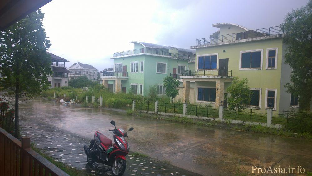 Наш поселок в конце сезона дождей