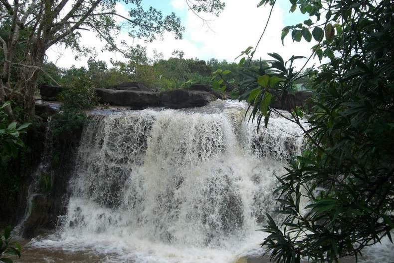 водопад Кбал Чхай, Камбоджа