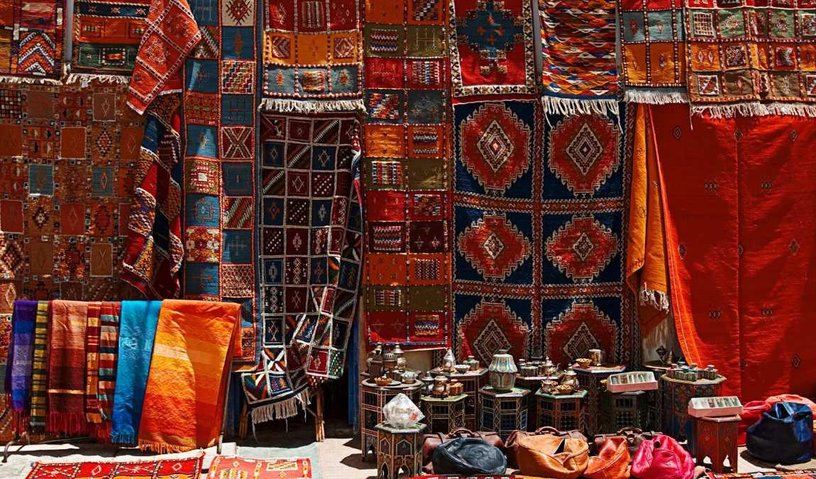 Ковры ручной работы как традиционный подарок из Египта