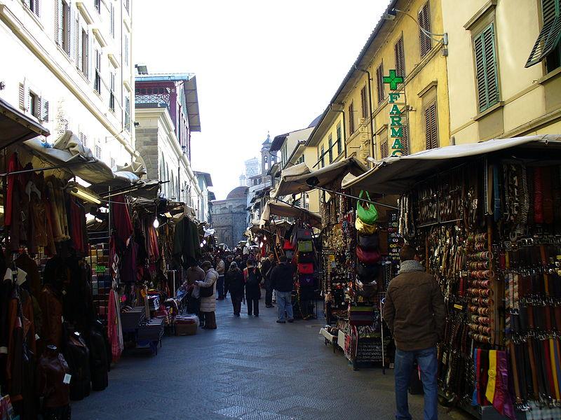 Магазины во Флоренции