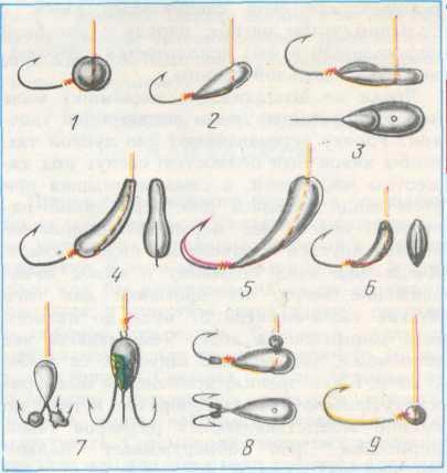 Лещовые мормышки