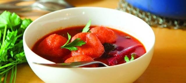 Красный суп Кубба (Red Kubbeh)