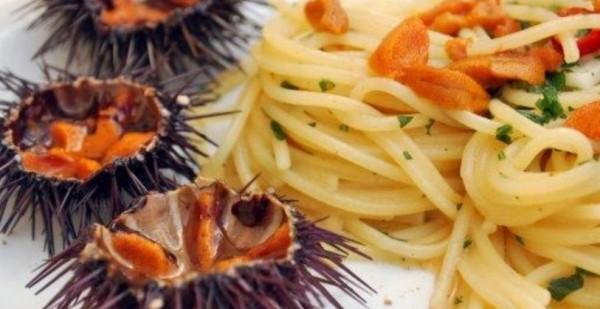 Блюда из морского ежа