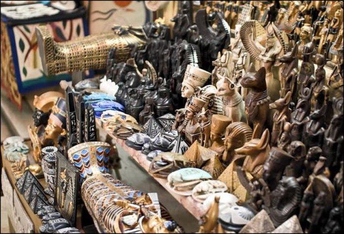 Сувениры в магазинах Хургады