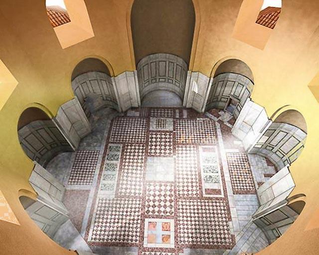дворец и арка галерия