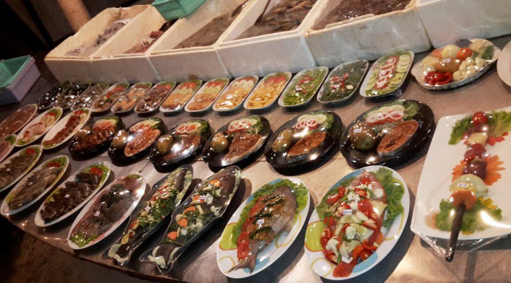 Разнообразные блюда