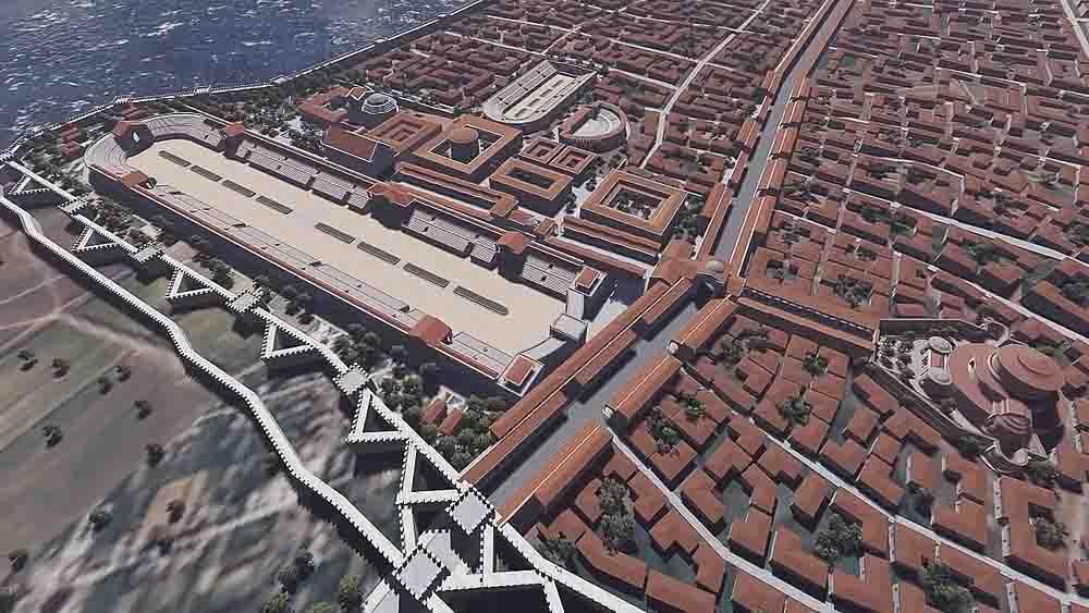 дворец императора Галери