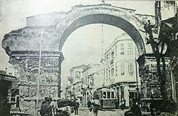 Арка Галерия в 1913 году