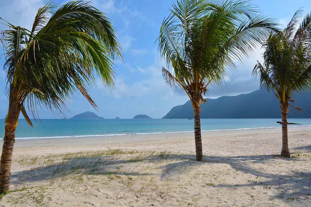 пляж Кон Дао Вьетнам