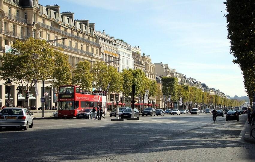 Главный проспект Парижа