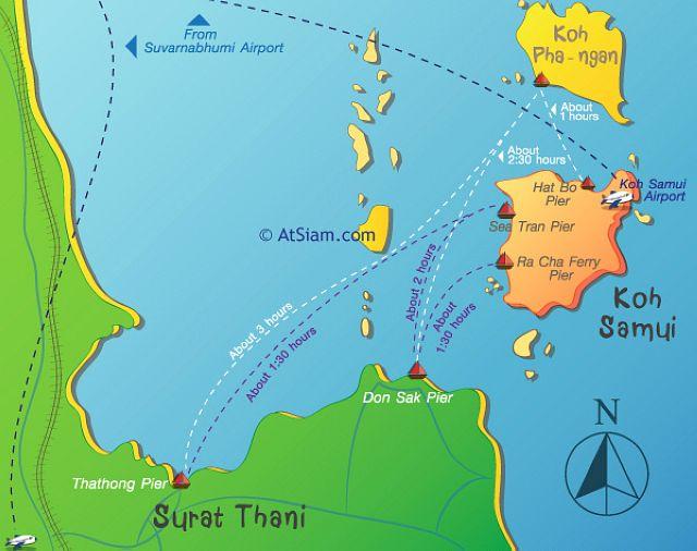 карта панган пирс