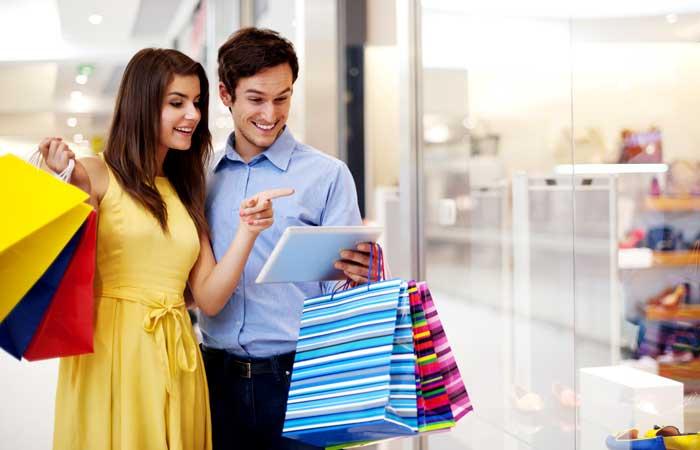 Веселый шопинг