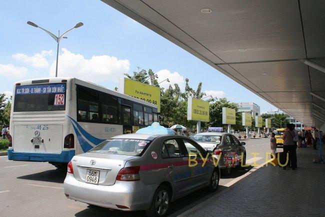 Такси и автобус №152