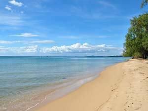 Пляж Лонг Бич на острове Фукуок