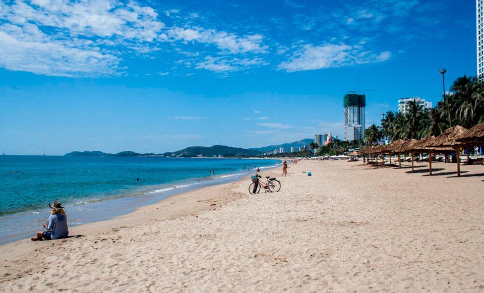 Муниципальный пляж Нячанга, Вьетнам