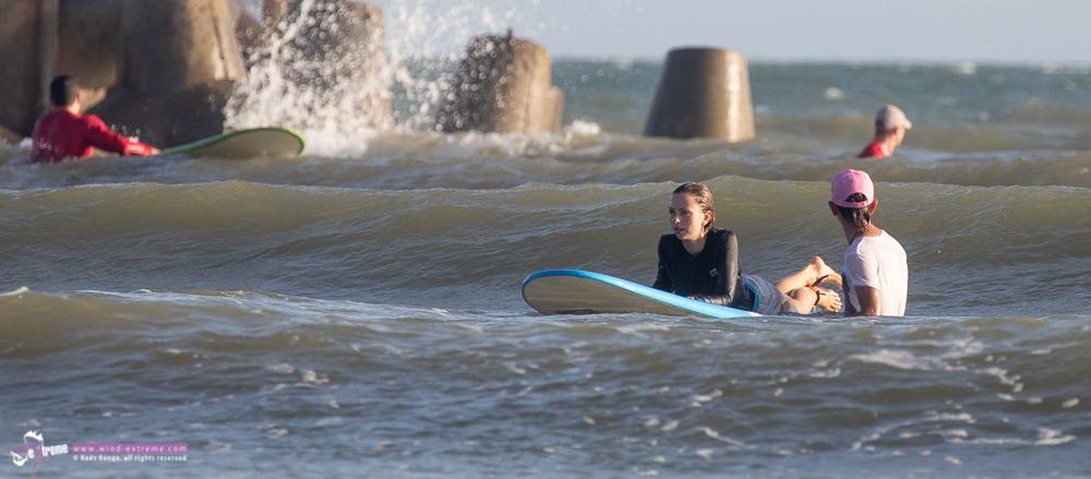 Обучение серфингу во Вьетнаме, Муйне, подготовка