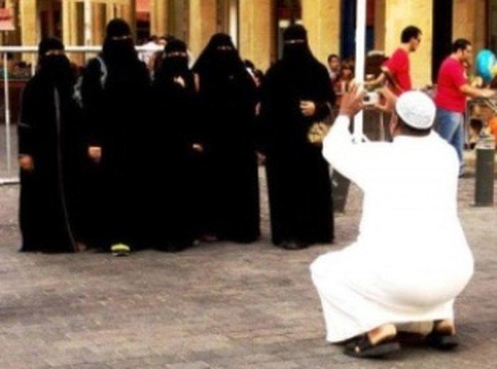 В ОАЭ не разрешается фотографировать арабских женщин