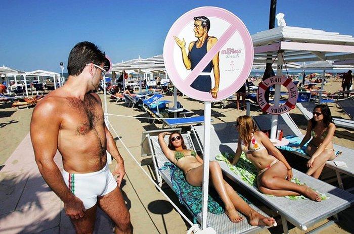 В ОАЭ существуют пляжи только для женщин