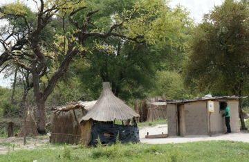 Типичная деревня в глубинке Замбии. Путешествие по Южной Африке