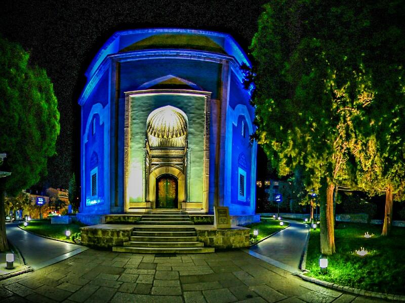 Зелёная гробница